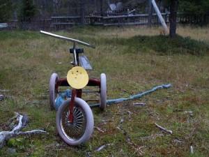 Tiesitkö, että kolmipyörässä on kiinteä välityssuhde, eli se on ns. fiksipyörä?